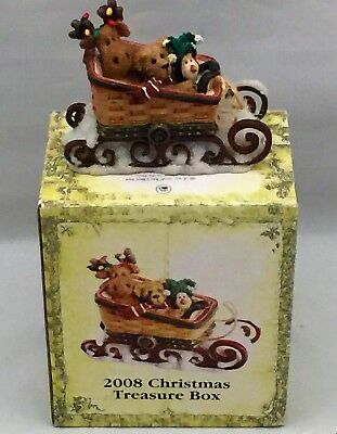 Boyd's 2008 Christmas Treasure Box~LIMITED EDITION~LONGABERGER EXCLUSIVE