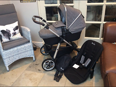 Silver cross Pioneer Brompton Special Edition Used Mothercare Brompton Pram Sale