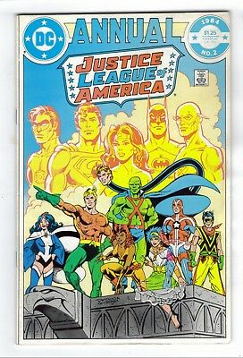 Justice League of America Annual #2 (1984) 1st Vibe, Gypsy Flash TV DC Comics