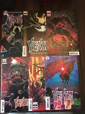 Venom #1 2 3 4 5 set Donny Cates Marvel 2018