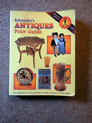 Schroeders Antiques Price Guide 1993, Paperback, 600 pages