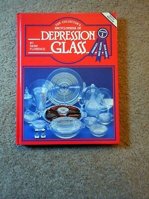 The Collectors Encyclopedia Of Depression Glass Gene Florence 6th Edition 1984