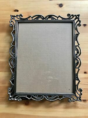 "9.5 x 11.5"" Metal Frame Bronze w Geometric Deco for 8 x 10"" Photo Wall or Desk"