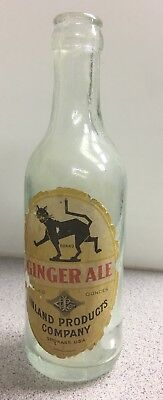 Pre Pro Spokane Wa. INLAND PRODUCTS COMPANY Labeled And Embossed Soda Bottle