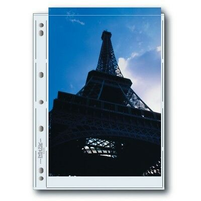 """Print File Archival 812-2G Photo Pages (4 x 25 pack) Holds two 8"""" x 12"""" prints"""