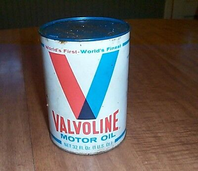 VALVOLINE MOTOR OIL CAN  32Oo