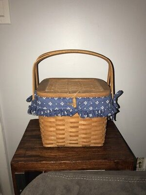 Longaberger 1992 Hostess Rememberance Basket