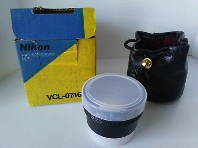 Nikon Wide Conversion Lens VCL-0746BN  0.7x NEW!