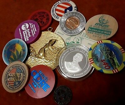 BEGINNER SET Amateur PUERTO RICO Exonumia Casino Coin Token Ficha Medal Trade !