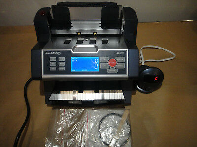 Accubanker Ab5200 Bank Teller Counter Counterfeit Bill Detector