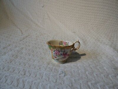 Antique Mintons Cockatrice Pattern Small Teacup