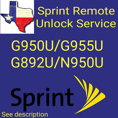 Samsung Galaxy S8/S8 Plus/Active/Note 8 Sprint Unlock Service