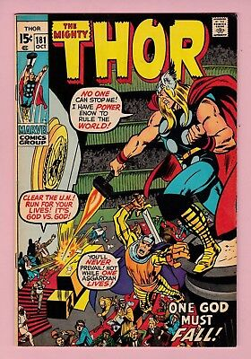 The Mighty Thor #181 Bronze Age Neal Adams 7.5 VF-