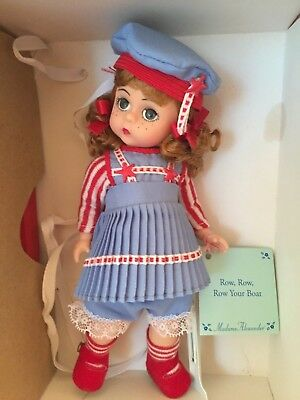 "Madame Alexander 8"" Doll - Row, Row, Row Your Boat"