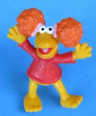 Vtg Schleich 1983 Fraggle Rock PVC Figure Red Fraggle