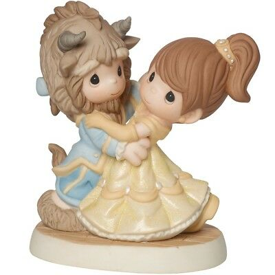 PRECIOUS MOMENTS Disney BEAUTY AND THE BEAST You Are My Fairy Tale Come True NEW