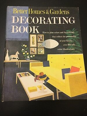 Vintage 1961 Better Homes and Gardens Decorating Binder Book Mid Century Modern