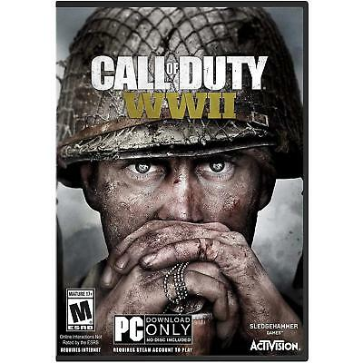 ✔Sealed Call of Duty: WWII (PC Games)  PC only, not for MAC - physical delivery