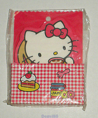 VINTAGE! 1985 Sanrio HELLO KITTY Die-Cut Note Sheets from JAPAN! NEW!