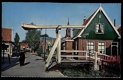 Volendam North Holland The Netherlands Vintage Chrome Postcard Cond: Very Good