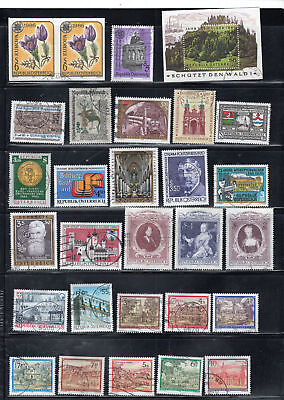 Austria Europe  Stamps Canceled Used   Lot   34730