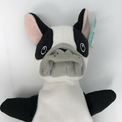 Pillowfort Bulldog Hand Puppet New With Tags