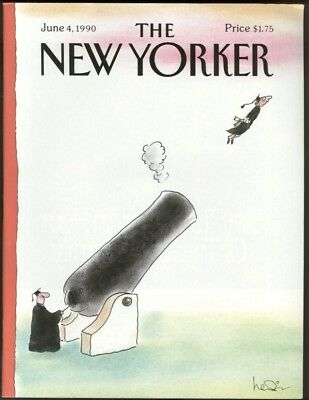 New Yorker Magazine - June 4, 1990 - Cover by Arnie Levin