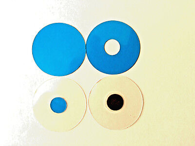 Microscope 32mm Mini-Rheinberg Blue Filter Set - Great To Start Or To Evaluate!!