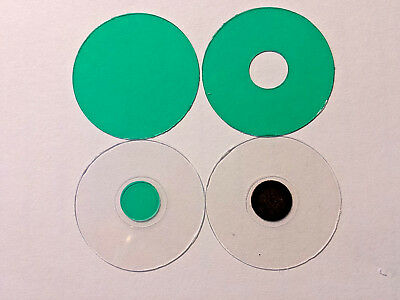 Microscope 32mm Mini-Rheinberg Green Filter Set - Great To Start Or To Evaluate!