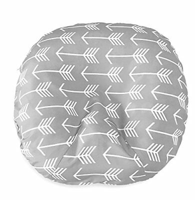 Removable Cover for Newborn Baby Lounger/Grey/Fits Boppy Lounger/Water Quality
