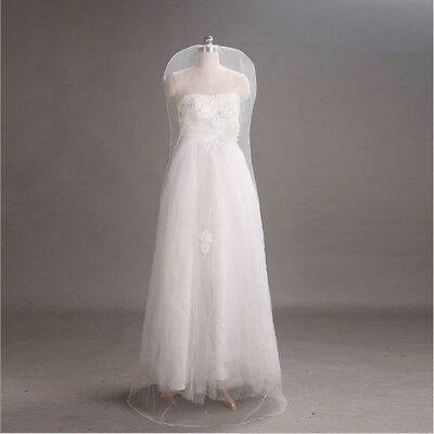 White Bridal Gown Dust Proof Cover Large Gauze Soft Tulle Storage Bag Garment