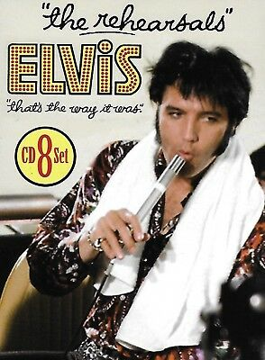 Elvis Presley - That's The Way It Was : The Rehearsals  [ Sealed 8-CD Box Set ]