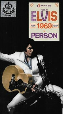 CD Elvis Presley - Elvis 1969 In Person  [ 4-CD Box Set ] [ Majesty 66 / 400 ]