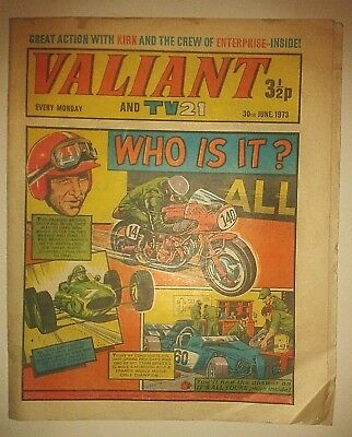 VALIANT AND TV 21 COMIC 1973 30th JUNE 1973 VALIANT COMIC and TV21 1973