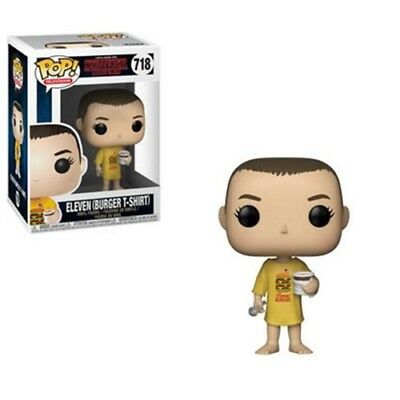 Funko Pop Stranger Things Eleven Burger T-Shirt Great Gift In Stock