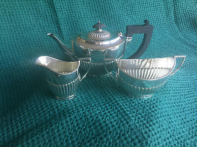 William Hutton and Sons silver/silver plated Tea Set