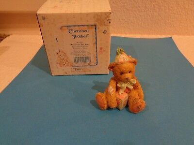 Cherished Teddies AGE 2 TWO SWEET TWO BEAR Teddy Bear Birthday Party 911321