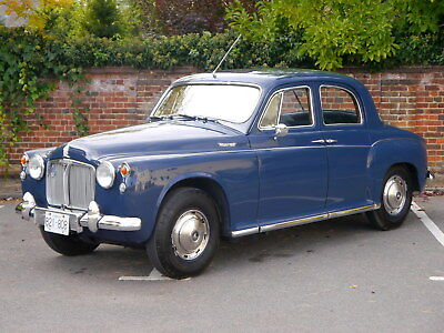 1962 Rover P4 100 2.6 - LHD - Totally original - Fresh import