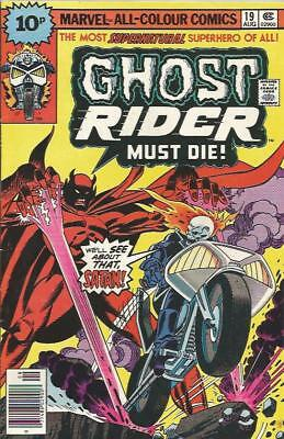 GHOST RIDER (1973) #19 - pence copy - Back Issue (S)