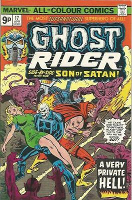 GHOST RIDER (1973) #17 - pence copy - Back Issue (S)