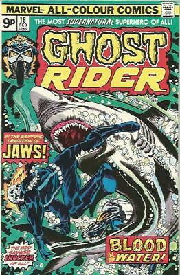 GHOST RIDER (1973) #16 - pence copy - Back Issue (S)