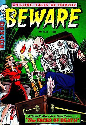 BEWARE No.15  - Full color Facsimile Comic