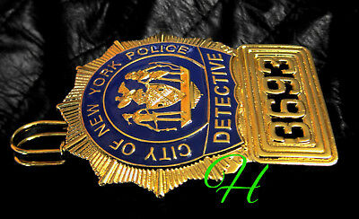 gv/ Historisches police badge + Detective , City of New York Police / TOP Offer