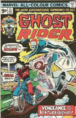 GHOST RIDER (1973) #15 - pence copy - Back Issue (S)