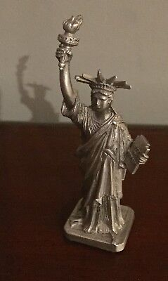 """Statue Of Liberty - Pewter U.S.A. - 3 3/4"""" Height"""