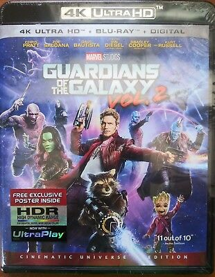 Guardians of The Galaxy NS Vol.2 4K Ultra-BR-Digital Code
