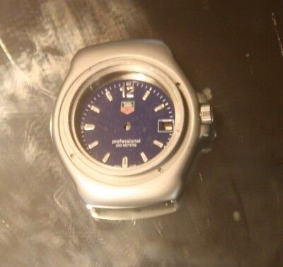 TAG HEUER Gehäuse-WatchCase Midsize37mm Professional 200m Dial Crown WA1217 NOS