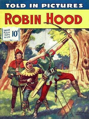 THRILLER PICTURE LIBRARY No.174 - ROBIN HOOD  Facsimile