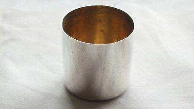 Solid Silver Victorian Flask Top by Sampson & Mordan London 1897