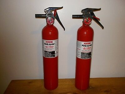 Kidde ABC Fire Extinguishers Set of Two 2.5# Need Recharging